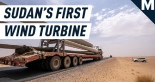 This is Sudan's Very First Wind Turbine | Mashable
