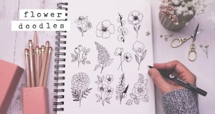 Twelve Easy Flower Doodles You Need To Know