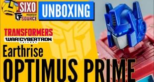 UNBOXING: Hasbro Transformers WFC Earthrise Optimus Prime