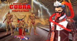 COBRA - TITAN ATTACK | COBRA FREE FIRE STORY | FREE FIRE SUPERHERO MOVIE | FREE FIRE SHORT FILM