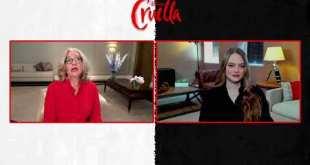 Cruella Movie 2021 Walt Disney  Soundbites Celebrity Interview w/ Emma Stone & Emma Thompson 4mins