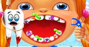 Happy Teeth - Game Menyikat & Membersihkan Gigi - Permainan Film Video Game Anak Lucu Sikat Dokter