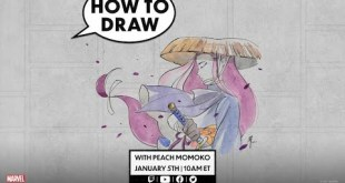 How to Draw Psylocke w/ Peach Momoko! | Marvel Live