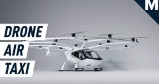 Humongous Flying Taxi Drone To Debut at 2024 Olympics | Mashable