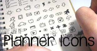 Bullet Journal / Planner Icon Doodles | Doodle with Me