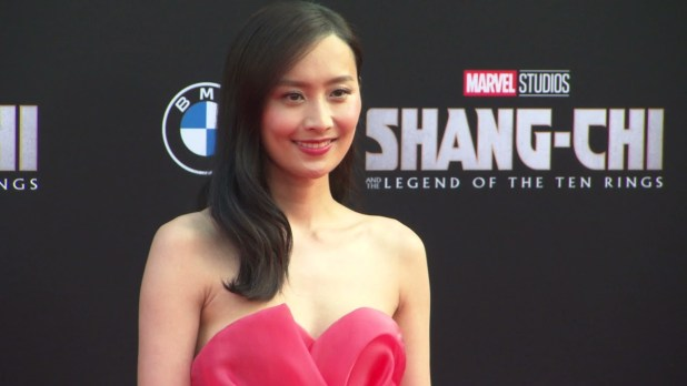 Marvel Studios Shang Chi Premiere Hollywood 2021 Red Carpet Event