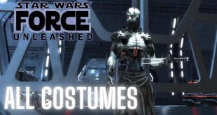 All Costumes Unlocked! | Star Wars: The Force Unleashed | Gameplay