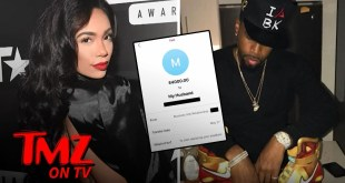 Erica Mena Admits to Trashing Safaree's Stuff, Claims He Cheated | TMZ TV
