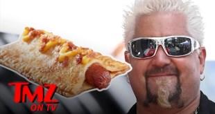 Guy Fieri's Shocks the Internet with his New Apple Pie Hot Dog | TMZ TV