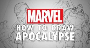 How to Draw APOCALYPSE w/ Marcus To! | Marvel Live!
