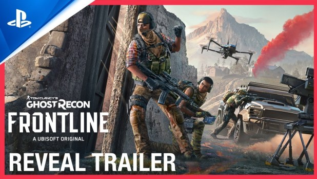 Tom Clancy's Ghost Recon Frontline - Reveal Trailer  PS5 PS4