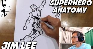 Jim Lee How to draw Superhero