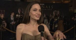 Marvel Studios Eternals 2021 Exclusive Celebrity Interview w / Angelina Jolie  HD