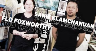 SDCC Artists' Corner: Costume Technicians Flo Foxworthy & Sanit Klamchanuan