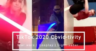 ( TikTok 2020 Covid-tivity) Light Saber Art | Dont rush challenge | Starwars Cosplay