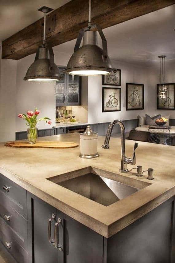 40 Amazing Modern Style Interior Design Ideas (PHOTOS) on Farmhouse Kitchen Counter Decor Ideas  id=19388