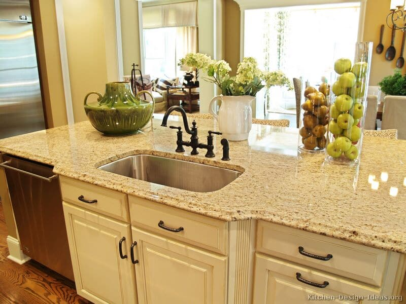 Most Popular Granite Colors for Countertops (White, Red ... on Countertop Decor  id=85162