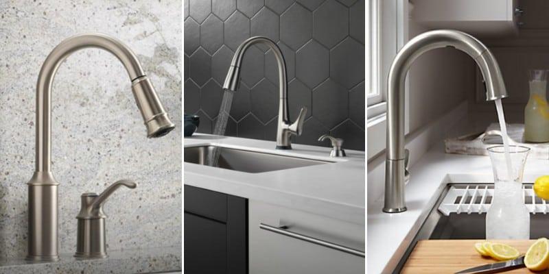 moen vs delta vs kohler kitchen faucets