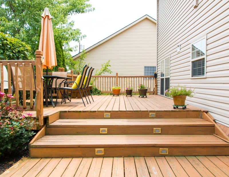 best deck paint options for old wood