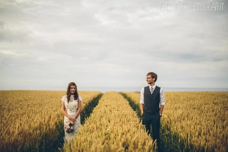 Mussenden Temple wedding photography