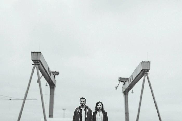 Titanic Belfast Engagement photography