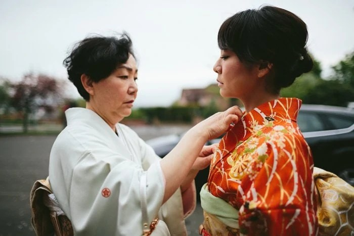 Japanese wedding photography