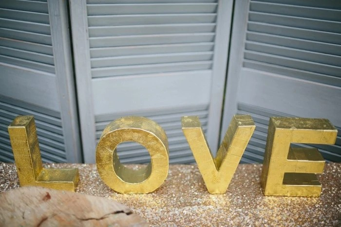 creative DIY decor wedding
