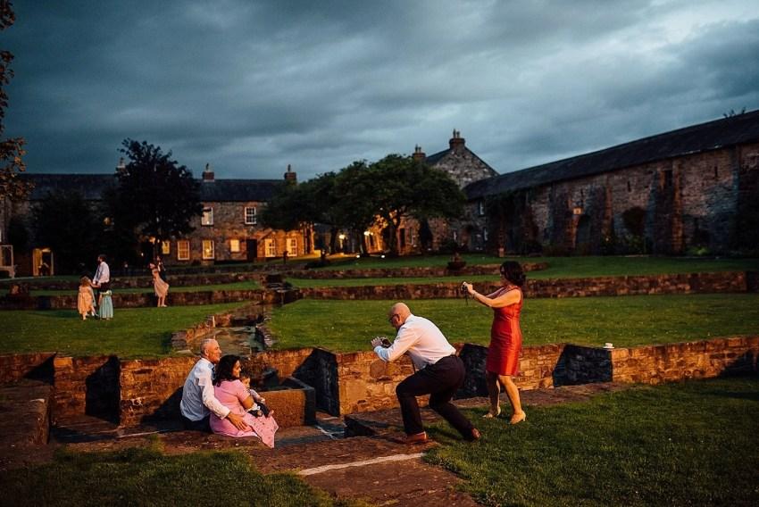 Documentary wedding photographer Ballymagarvey Village Ireland