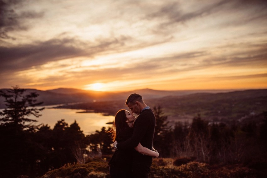 Rostrevor Mountain Engagement Photos