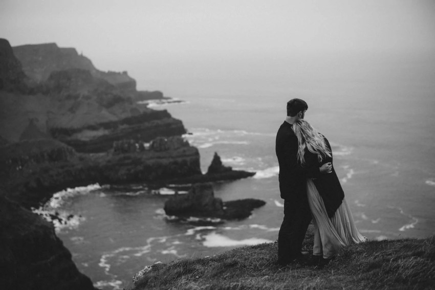 Engagement Photography Giants Causeway wedding photographer northern Ireland