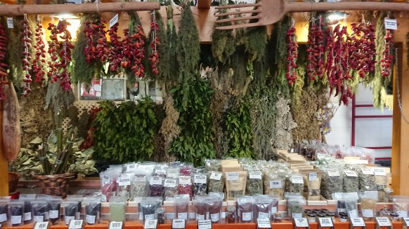 Spices at the Madeira Framers Market