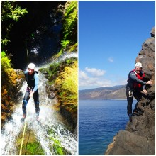 Canyoning and Coasteering in Madeira Island