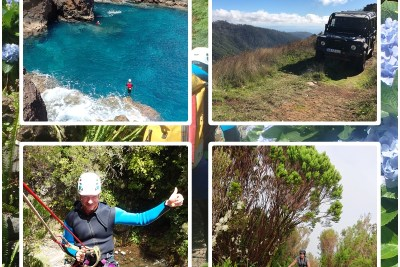 coasteering beginner mountain bike madeira island