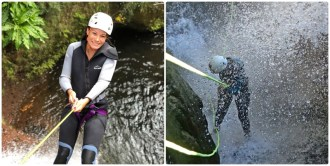 Canyoning Beginner and intermediate in Madeira island
