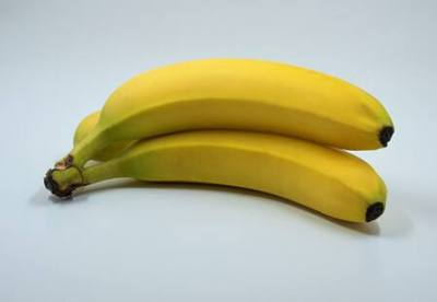 Bananas have high potassium content