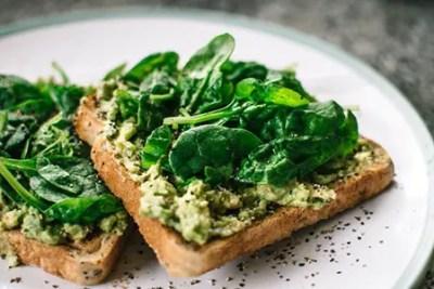 Spinach has high calcium content
