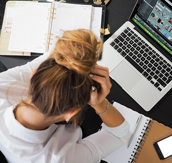Low levels of GABA can lead to increased stress levels