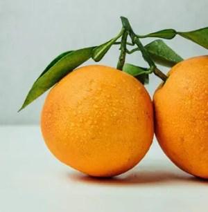 Vitamin C foods like oranges prevent free radical damage to blood platelets