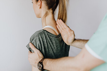 chiropractic manipulation can break up the muscle spasm and scar tissue helping to ease the pain