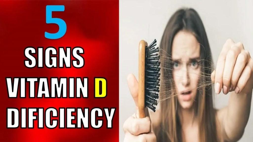 5 signs of vitamin D deficiency