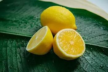 lemon can also help remove white spots