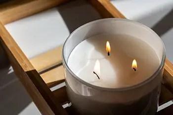 make homemade candles