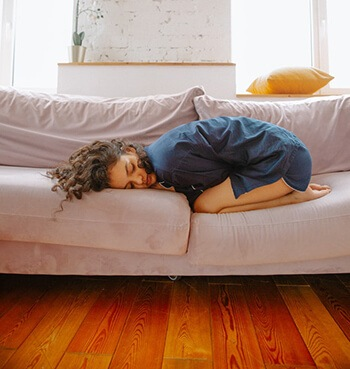 menstrual disorders like severe cramping