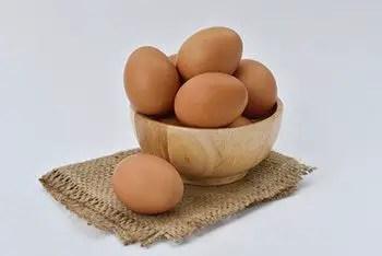 raw eggs can contain salmonella