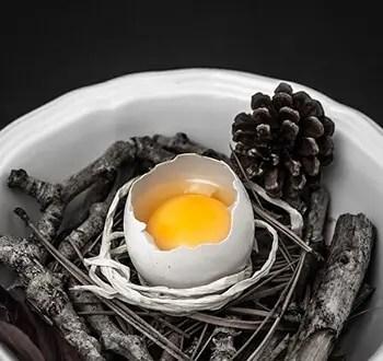 replace egg whites using apple cider vinegar