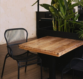 to polish wooden tables