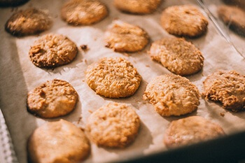 you can add flaxseeds to cookies