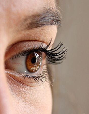 Put a coat on your eyelashes before you go to bed