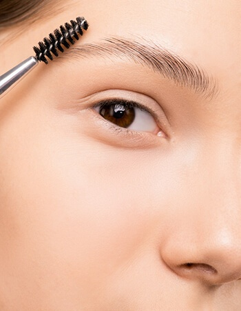 Tame unruly eyebrows