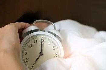 wake up earlier